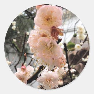 Pegatina del flor