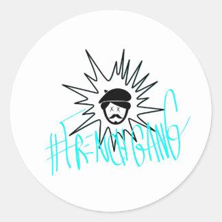 Pegatina del #FrenchGang de James París