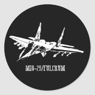 Pegatina del fulcro de los aviones MiG-29