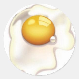 Pegatina del huevo frito