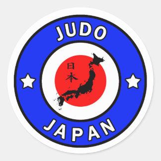Pegatina del judo