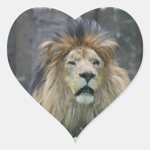 Pegatina del león