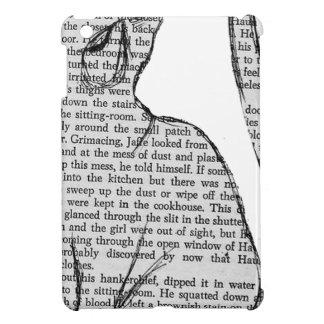 pegatina del libro de lectura del gato