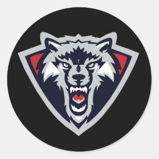 Pegatina del lobo
