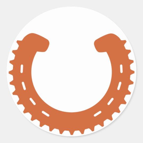 Pegatina del logotipo de Clydesdale MTB