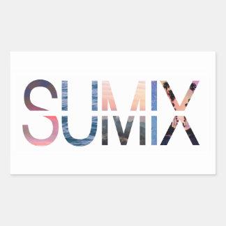 Pegatina del logotipo de Sumix