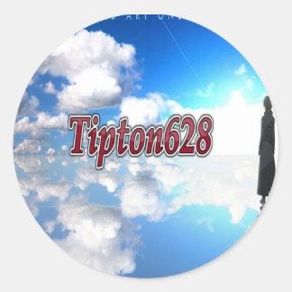 Pegatina del logotipo Tipton628