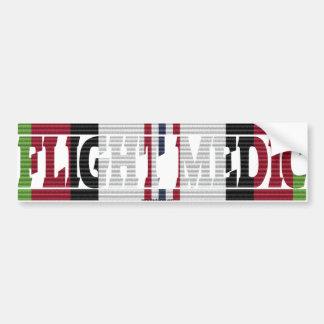 Pegatina del médico ACM del vuelo de Afganistán