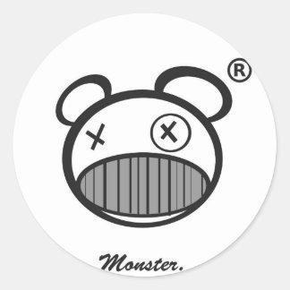 Pegatina del monstruo