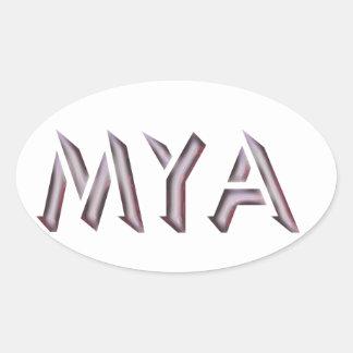 Pegatina del Mya