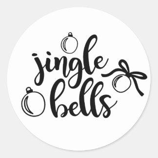 Pegatina del navidad de los cascabeles