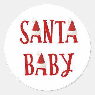 Pegatina del navidad del bebé del bebé el | de