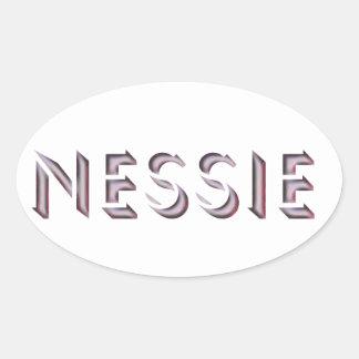 Pegatina del Nessie
