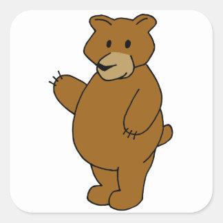 Pegatina del oso de la lógica de la nidada