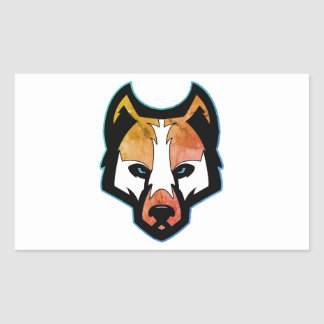 Pegatina del perro esquimal de MPV