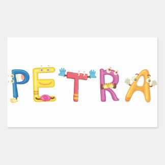 Pegatina del Petra