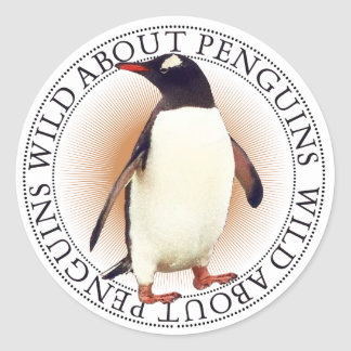 Pegatina del pingüino