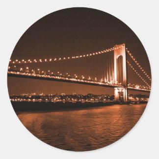 pegatina del puente de la Caramelo-cola