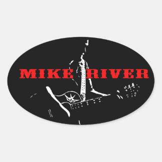 Pegatina del río de Mike