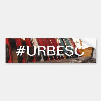 Pegatina del #URBESC