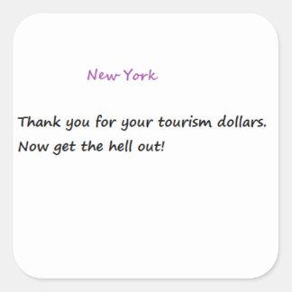 Pegatina divertido de Nueva York