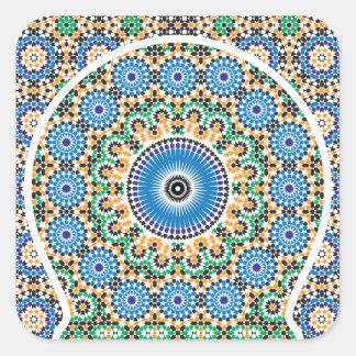 Pegatina en estilo marroquí