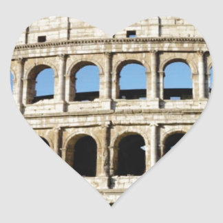 Pegatina En Forma De Corazón agujeros y arcos