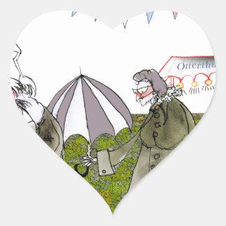 Pegatina En Forma De Corazón amamos Yorkshire 'appen el autobús somos atrasados