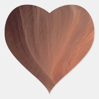Pegatina En Forma De Corazón ARIZONA - barranco superior E del antílope - roca