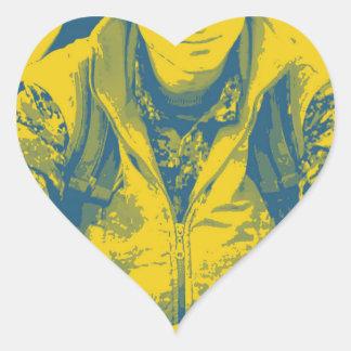 Pegatina En Forma De Corazón Arte 4 del soldado 3 de YPG