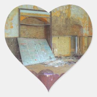 Pegatina En Forma De Corazón Auditorio 01,0, lugares perdidos, Beelitz