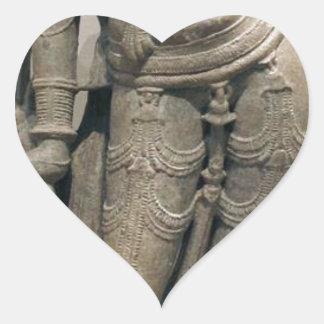 Pegatina En Forma De Corazón Belleza celestial (Surasundari)