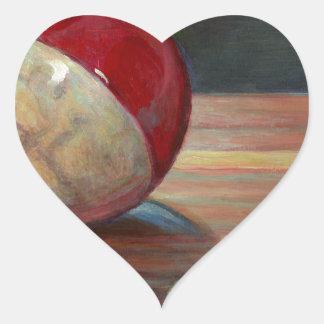 Pegatina En Forma De Corazón Bobber y plomo