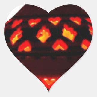 Pegatina En Forma De Corazón bougeoirs-tajine