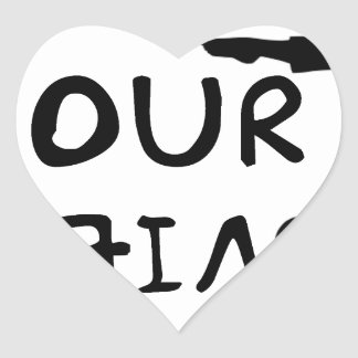 Pegatina En Forma De Corazón Cambie su opinión (2)
