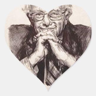 Pegatina En Forma De Corazón Chorreadoras de Bernie de Billy Jackson