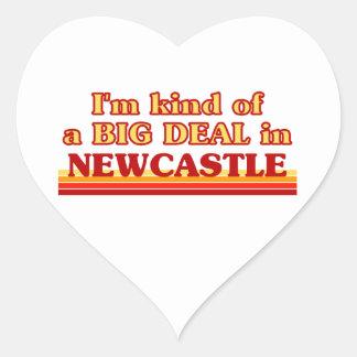 Pegatina En Forma De Corazón Clase de I´m de una gran cosa en Newcastle