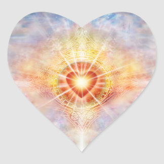 Pegatina En Forma De Corazón Corazón celestial H038