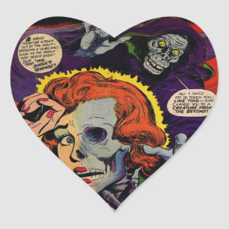 Pegatina En Forma De Corazón Corredor del amor