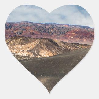 Pegatina En Forma De Corazón Cráter Death Valley de Ubehebe
