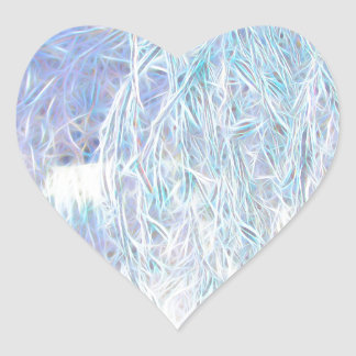 Pegatina En Forma De Corazón Después del resplandor Icestorm-Verde