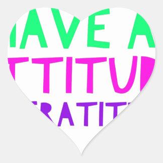 Pegatina En Forma De Corazón Detox AA de la recuperación de la gratitud de la