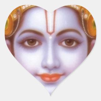 Pegatina En Forma De Corazón dios del rama