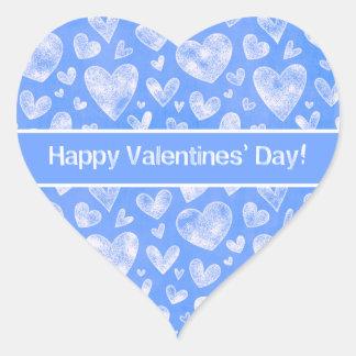 Pegatina En Forma De Corazón El día de San Valentín - corazones de la diversión