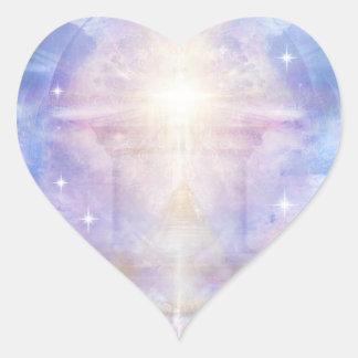 Pegatina En Forma De Corazón Entrada V052 al Godhead