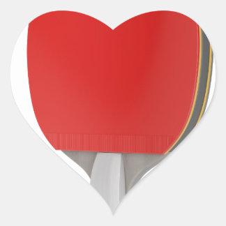 Pegatina En Forma De Corazón Estafa del ping-pong