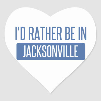 Pegatina En Forma De Corazón Estaría bastante en Jacksonville NC