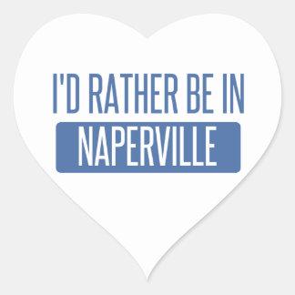 Pegatina En Forma De Corazón Estaría bastante en Naperville