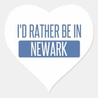 Pegatina En Forma De Corazón Estaría bastante en Newark NJ