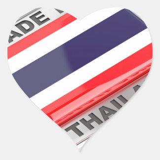 Pegatina En Forma De Corazón Hecho en Tailandia
